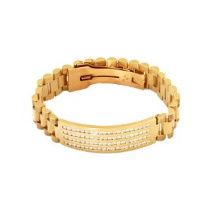 14k Yellow Gold, Rolex Design, Diamond weight 3.36ct