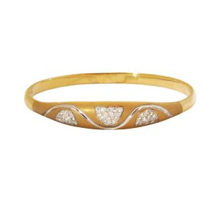 14k Yellow Gold Millenium Band