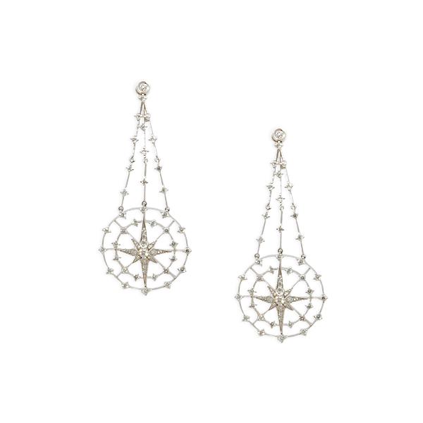 Diamond 1.71ct Mesh Star 14k w/g
