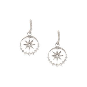 Diamond .70ct Star in Circle 14k w/g