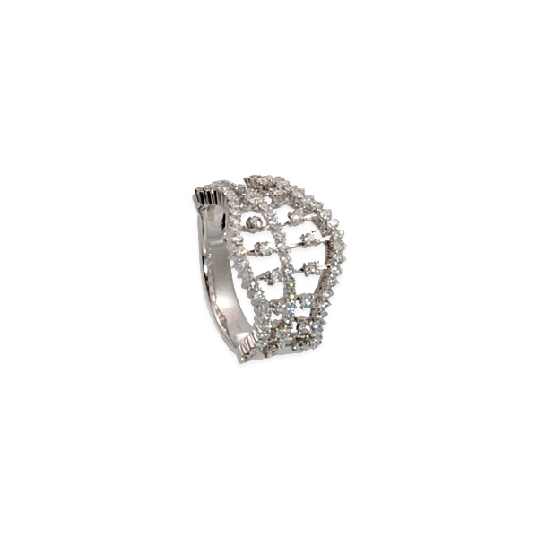 Diamond 1.01ct 18k w/g Weave